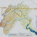 Sub-watersheds of the Potomac River
